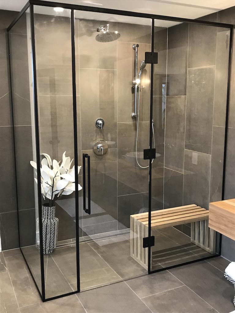 An amazing shower