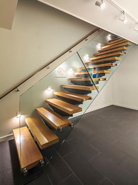 A grand staircase