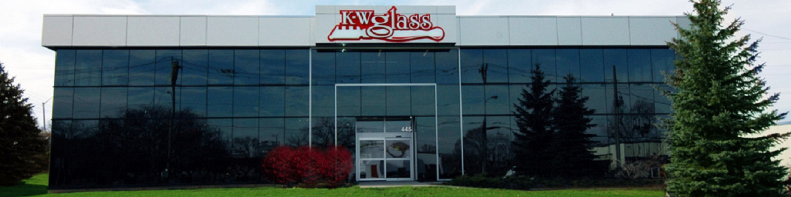 K-W Glass, Waterloo Showroom